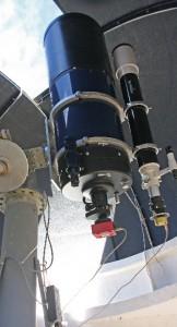 ACF16 - ein 0,4-Meter Meade Schmidt Cassegrain mit Leitrohr an der Sternwarte Huchenfeld