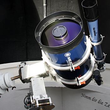 First Light für neues Hauptteleskop