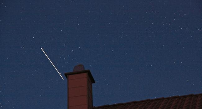 ISS über Huchenfeld