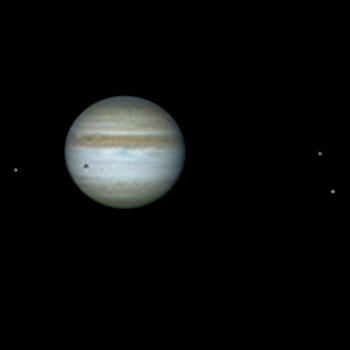Jupiter in Oppositionsstellung