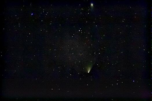 Komet Panstarrs bei M 31
