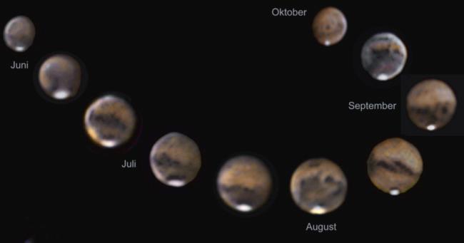 Ergebnisse Marsopposition 2003