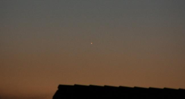 Abendsichtbarkeit des Merkur