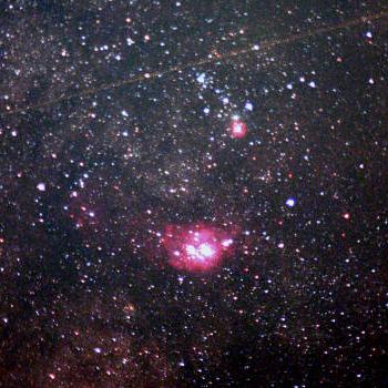 Testaufnahmen der Sommermilchstraße