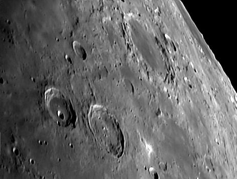 Mare Humboltianum auf dem Mond