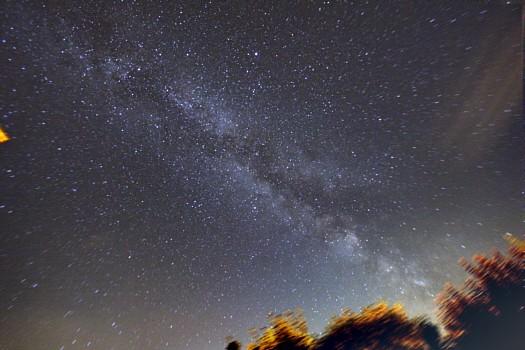 fremde galaxy in der milchstrasse