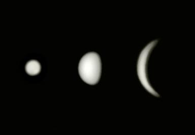 Beobachtung der Venussichel
