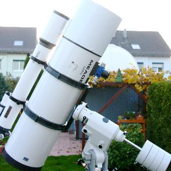 Astrograph SN10 mit neuer Montierung
