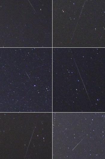 Geminiden 2015 beobachtet