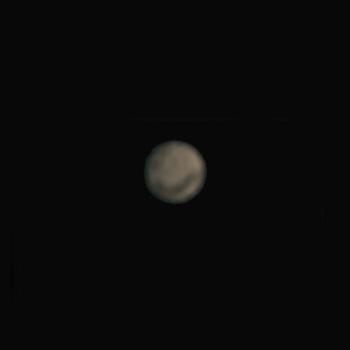 Mars in Erdnähe