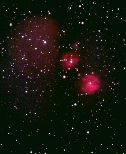 IC 2162 – eine interessante Nebelregion