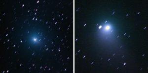 Komet Tuttle-Giacobini-Kresak (41P) und Komet Johnson (C2015V2) im Sternbild Herkules