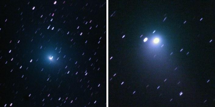 Zwei Kometen: Tuttle-Giacobini-Kresak und Johnson