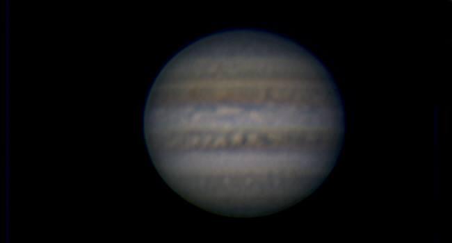 Jupiter im März