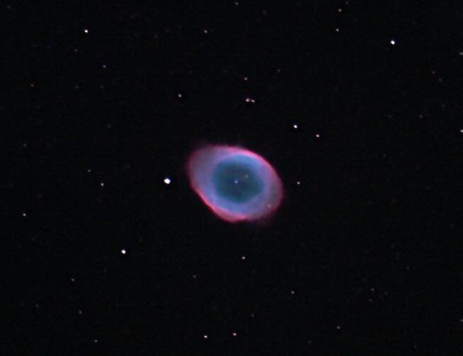 Messier 57 – ein sterbender Stern