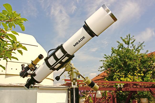 Neues Sonnenteleskop AR6 eingeweiht