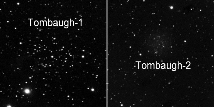 Sternhaufen Tombaugh 1 und 2