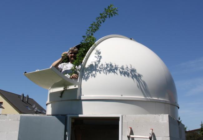 Richtfest der Sternwarte Huchenfeld