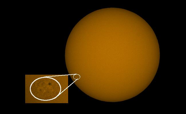 Erste Sonnenflecken des neuen Zyklus