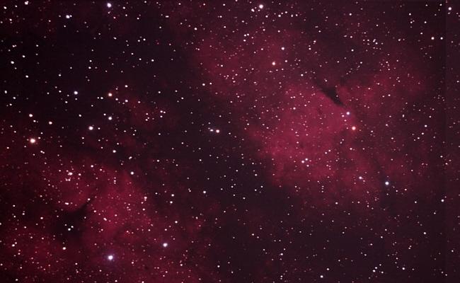 Firstlight des neuen 10 Zoll Astrografen in Bau 2