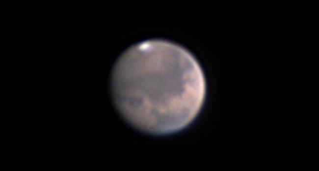 Mars besonders detailreich