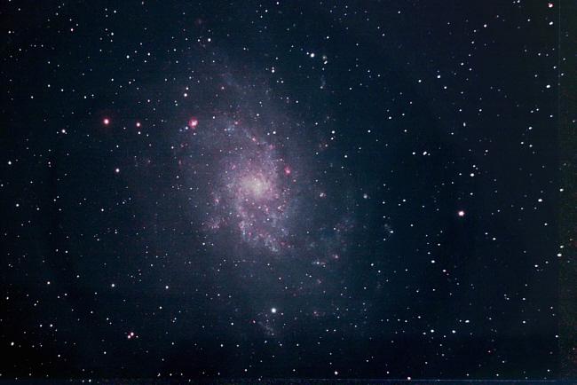 Am Astrographen: Galaxie Messier 33