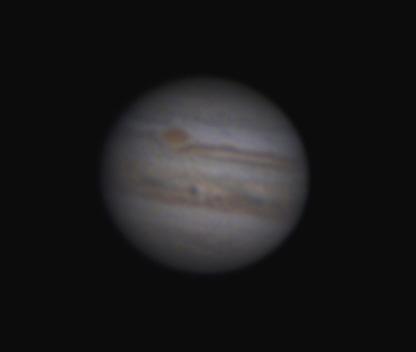 Jupiter tief am Südhimmel