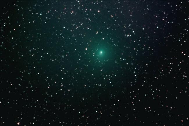 Komet Atlas M3 im Orion