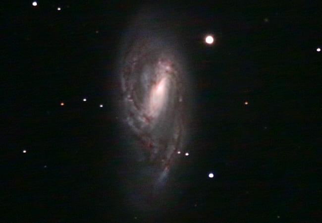 Messier 66 in hoher Auflösung