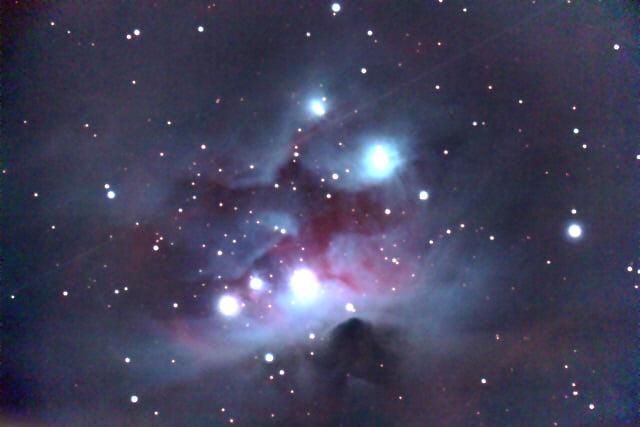 Der Running-Man-Nebel im Orion